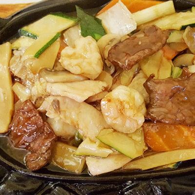 Vitello alla piastra al ristorante un mondo di sapori a milano for Gamberi alla piastra cinesi