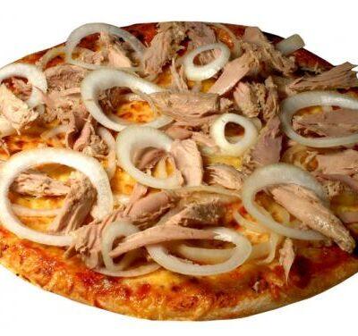 Pizza contadina (tonno e cipolla)